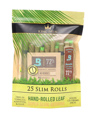 King Palm 25 Slim Rolls (25 Pack)