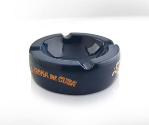 La Aroma De Cuba Ashtray - Blue - Lighter USA