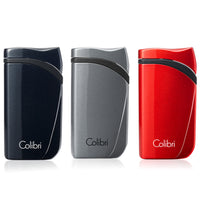 Colibri Falcon Single Jet Lighter (Metallic)