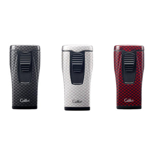 Colibri Monaco Triple Flame Lighter (Carbon Fiber)
