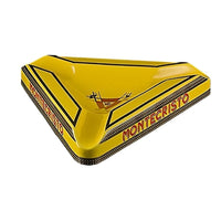 Montecristo Triangle Ceramic Ashtray - Yellow Ashtrays Montecristo - Lighter USA