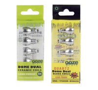 Ooze Dome Dual Coils 5PC/PK Screens Ooze - Lighter USA