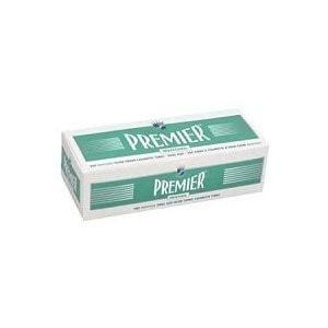 Premier Menthol King Size Tubes Case - 10,000 Tubes - Lighter USA