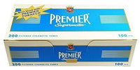 Premier Light 100mm Tubes Case - 10,000 Tubes Smoking Accessories Premier - Lighter USA