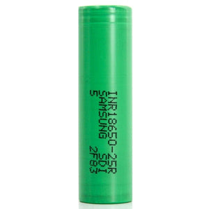 Samsung 18650 25R 2500mAh Lithium-ion Battery - Single