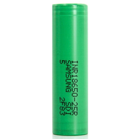 Samsung 18650 25R 2500mAh Lithium-ion Battery - Single Batteries Samsung - Lighter USA