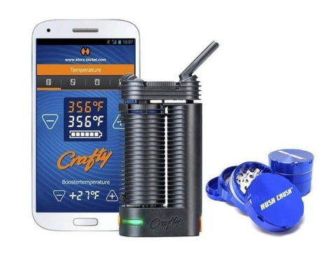 Storz & Bickel Crafty Vaporizer + Free Grinder + Overnight Shipping Vaporizers Storz & Bickel - Lighter USA