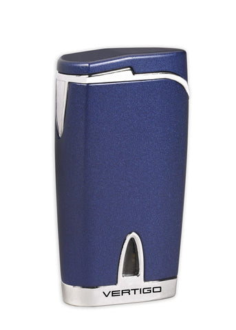 Vertigo Twister Quad Torch Lighter - Blue - Lighter USA