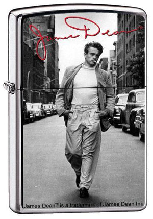 Zippo Lighter - James Dean Street High Polish Chrome