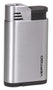 Vertigo Attache Single Jet Flame Lighter - Brushed Chrome - Lighter