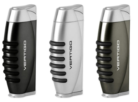 Vertigo Blitz Single Torch Lighter w/ Fold-Out Punch Lighter Vertigo - Lighter USA