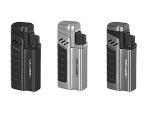 Vertigo Renegade Quad Torch Lighter w/ Punch