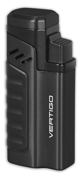 Vertigo Renegade Quad Torch Lighter w/ Punch Lighter Vertigo - Lighter USA