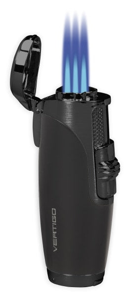 Vertigo Titan Triple Torch Lighter w/ Cigar Punch Lighter Vertigo - Lighter USA