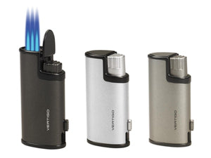 Vertigo Warrior Triple Flame Lighter w/ Cigar Punch