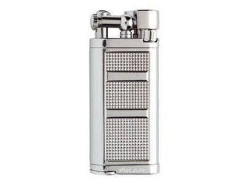 Xikar Pipeline Lighter Chrome Silver - 595CS - Lighter USA