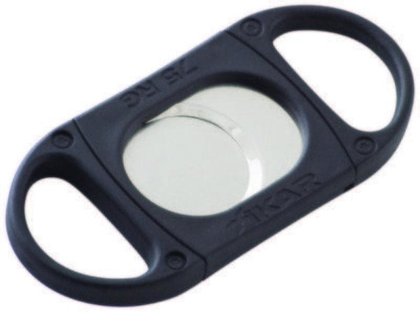 Xikar X8 Black Cigar Cutter 75 Gauge - Black - Lighter USA