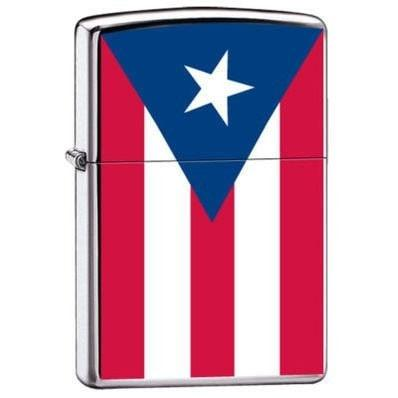 Zippo Lighter - Puerto Rico Puertorican Flag - Lighter USA