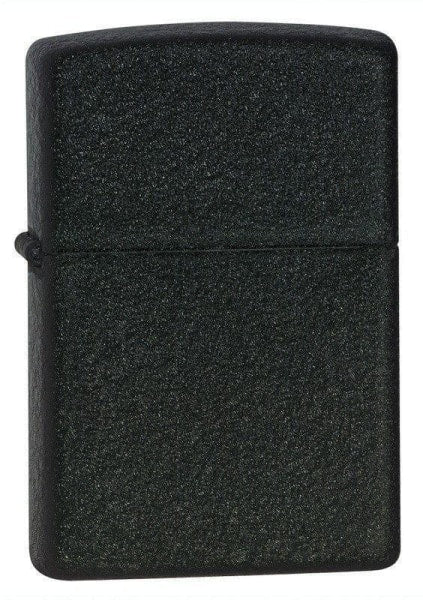 Zippo Lighter - Black Crackle - Lighter USA