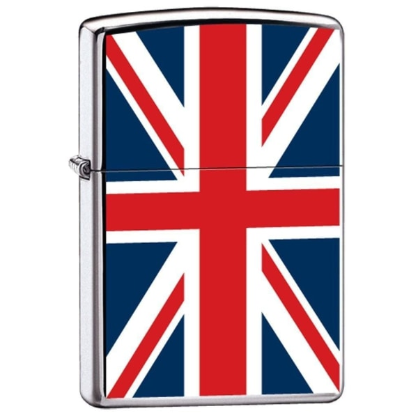 Zippo Lighter - England Great Britain British Flag - Lighter USA