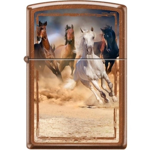 Zippo Lighter - Horses Toffee - Lighter