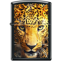 Zippo Lighter - Leopard Black Matte - Lighter