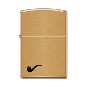 Zippo Lighter - Pipe Lighter Brushed Brass