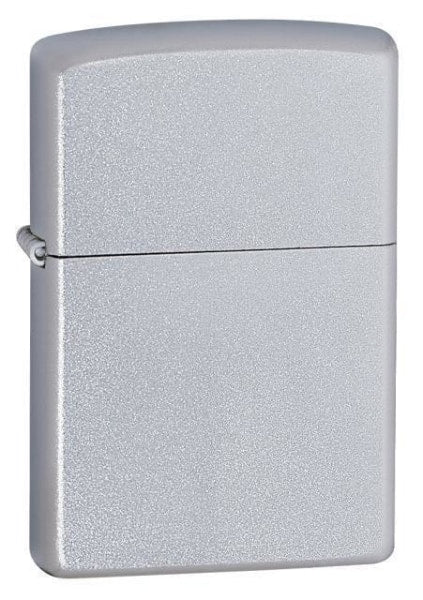Zippo Lighter - Satin Chrome - Lighter USA