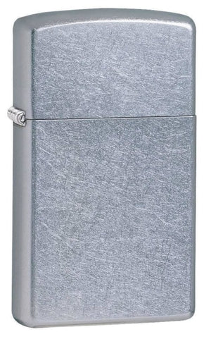 Zippo Lighter - Slim Street Chrome