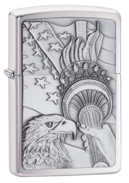 Zippo Lighter - Something Patriotic Emblem - Lighter USA
