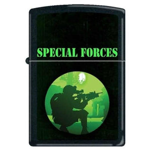 Zippo Lighter - Special Forces Black Matte