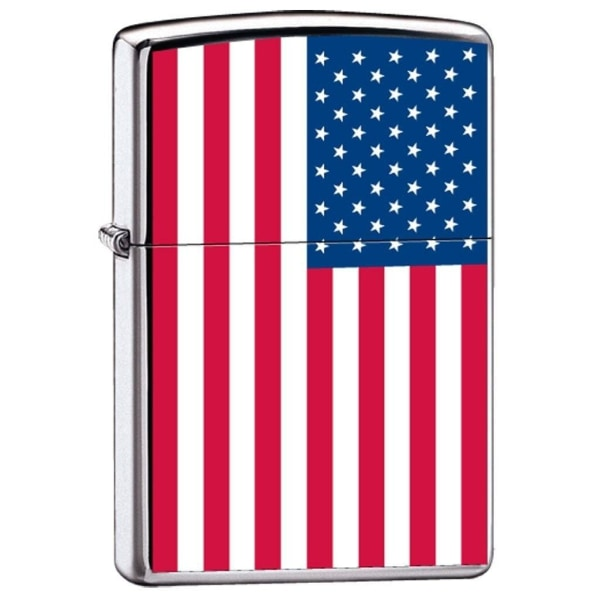 Zippo Lighter - USA United States American Flag - Lighter USA