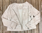 Off White Suede Jacket