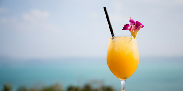 Missing: Summer. If found, please return, we've made Mango Mimosas!
