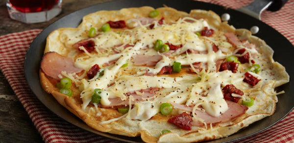 Savoury Cheese and Ham Pancakes