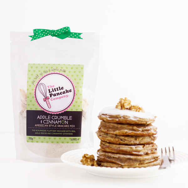 Apple Crumble & Cinnamon Pancake Mix - Little Pancake Co