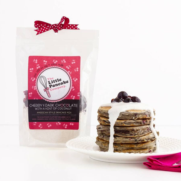 Cherry & Dark Chocolate Pancake Mix - Little Pancake Co