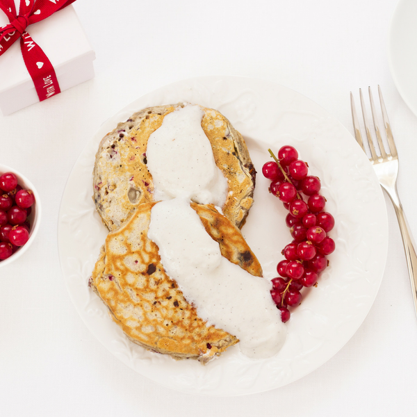 Limited Edition Christmas Cranberry & White Chocolate Pancake Mix - Little Pancake Co