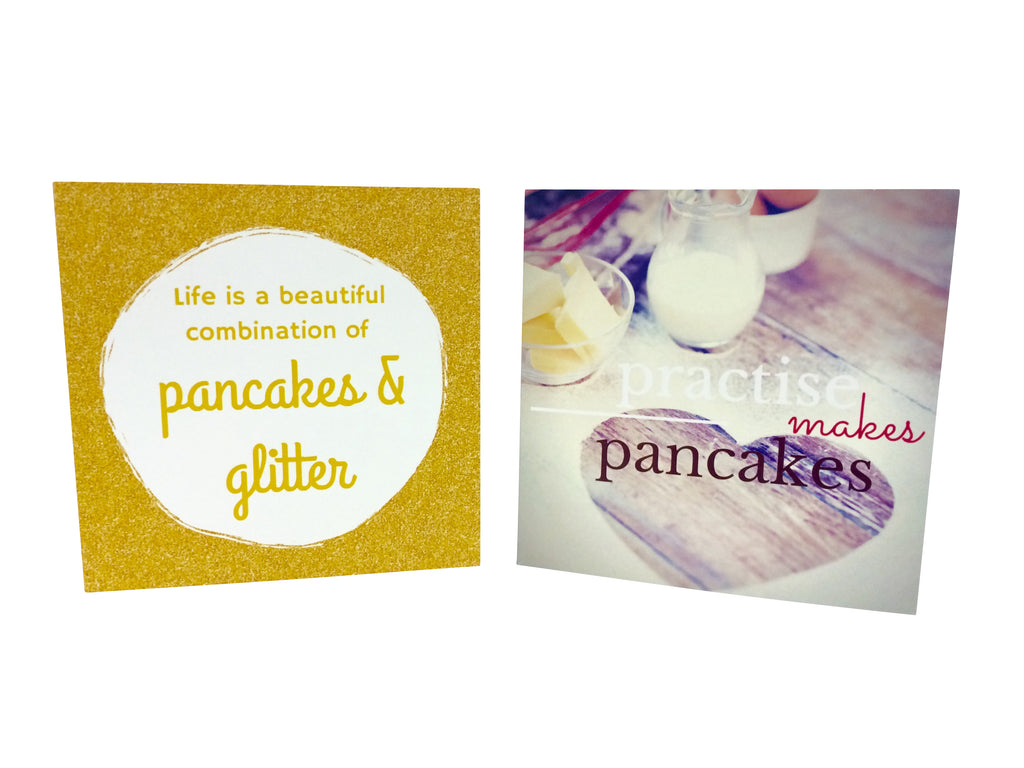 Pancake Themed Gift Card - Little Pancake Co