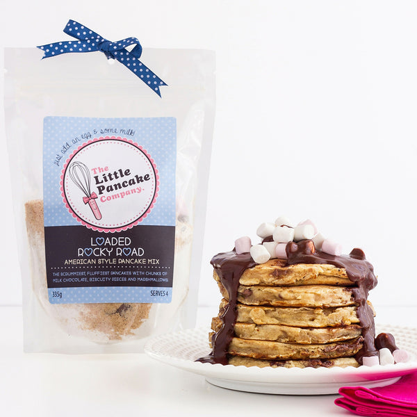 Pancake Gift Set - Rocky Road Mix and Cutter