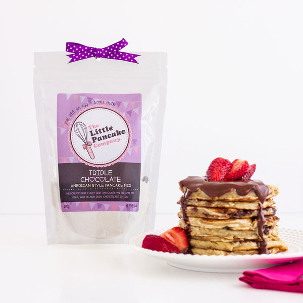 Triple Chocolate Pancake Mix - Little Pancake Co