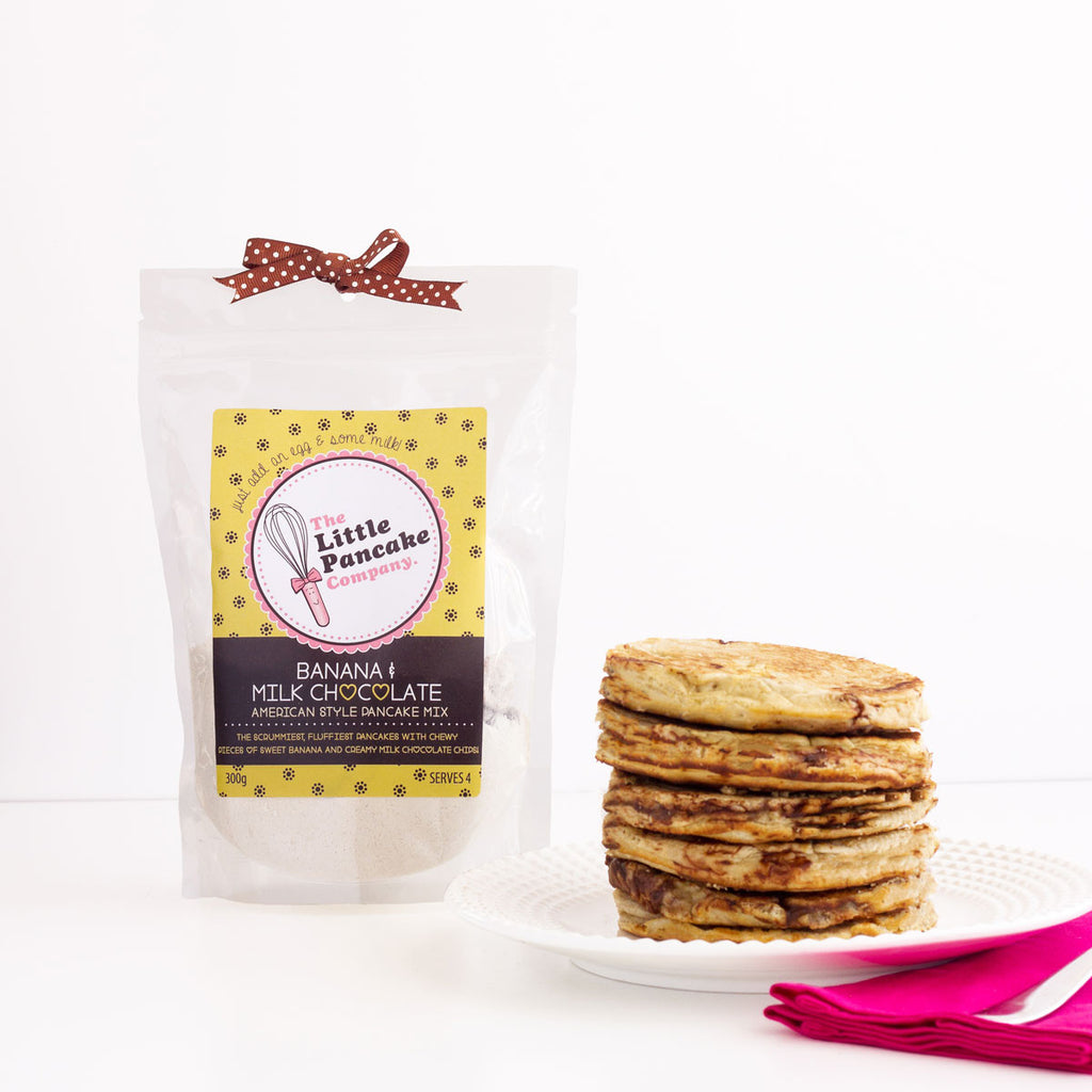 Banana & Milk Chocolate Pancake Mix - Little Pancake Co