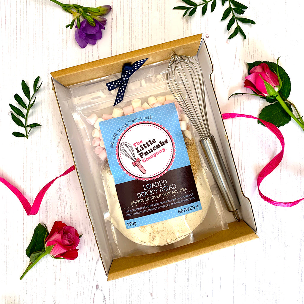 Gourmet Pancake Mix and Whisk Gift Set