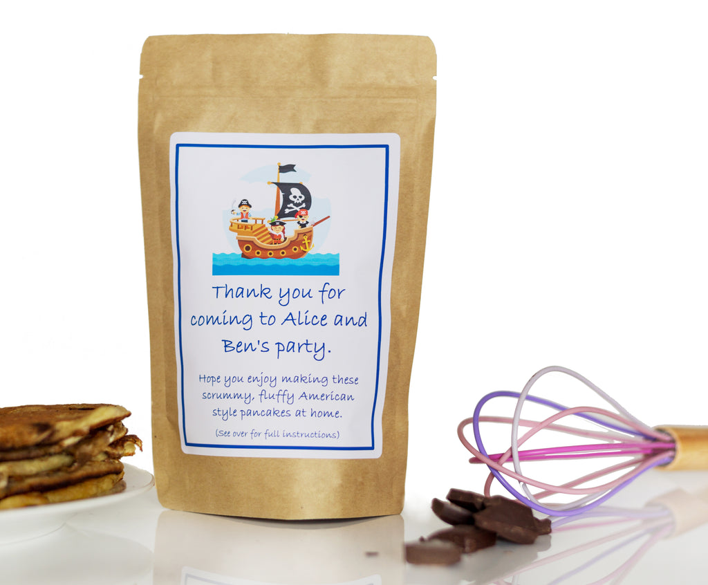 Personalised Pancake Mix Party Bags - Little Pancake Co