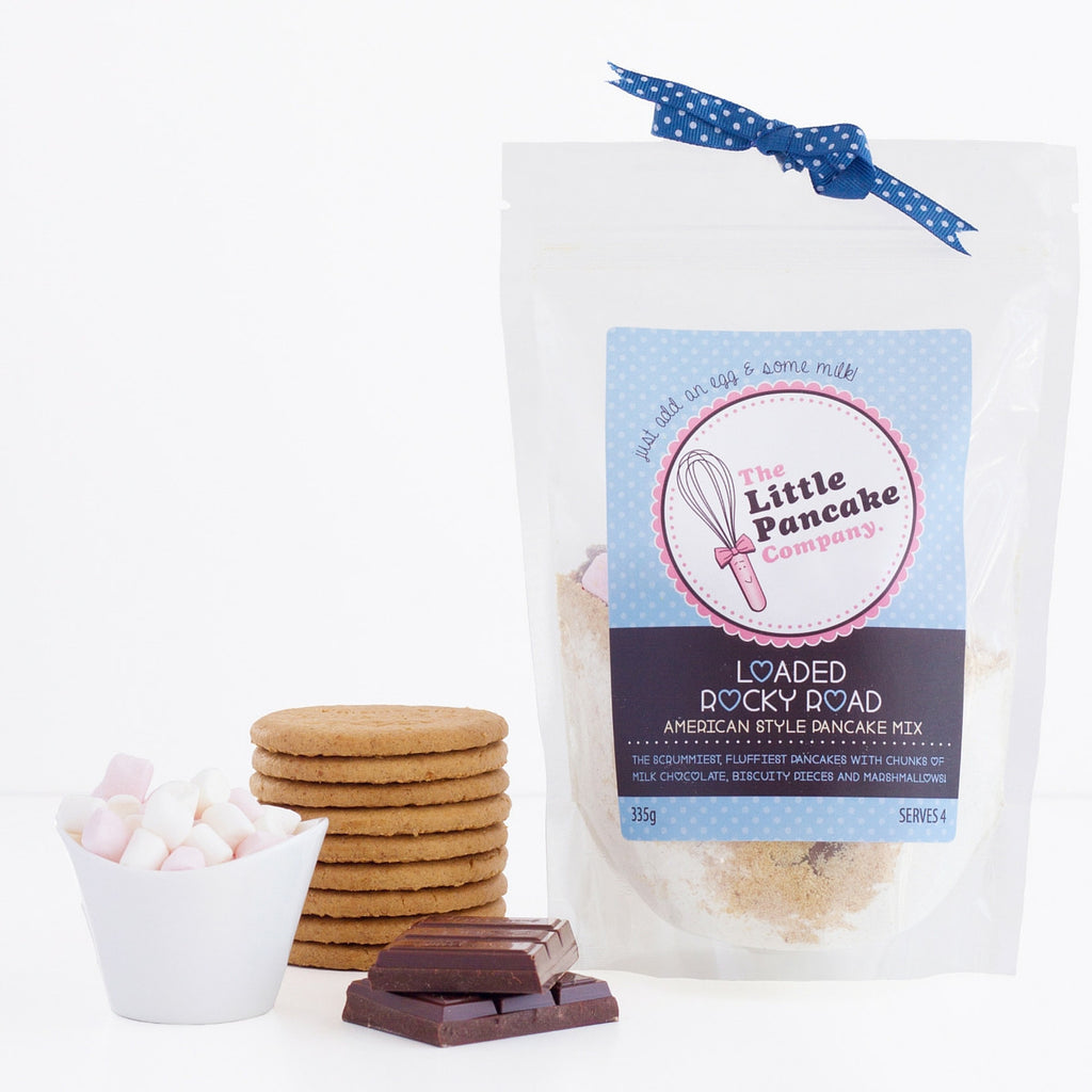 Pancake Mix Whisk And Heart Cutter Gift Set - Little Pancake Co
