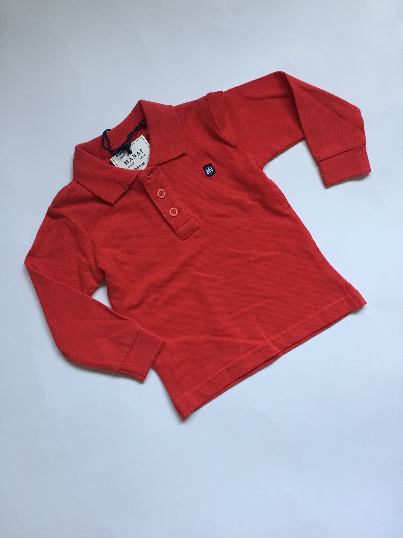 Manai Long Sleeved Polo NWT  | Boys | 9 Months