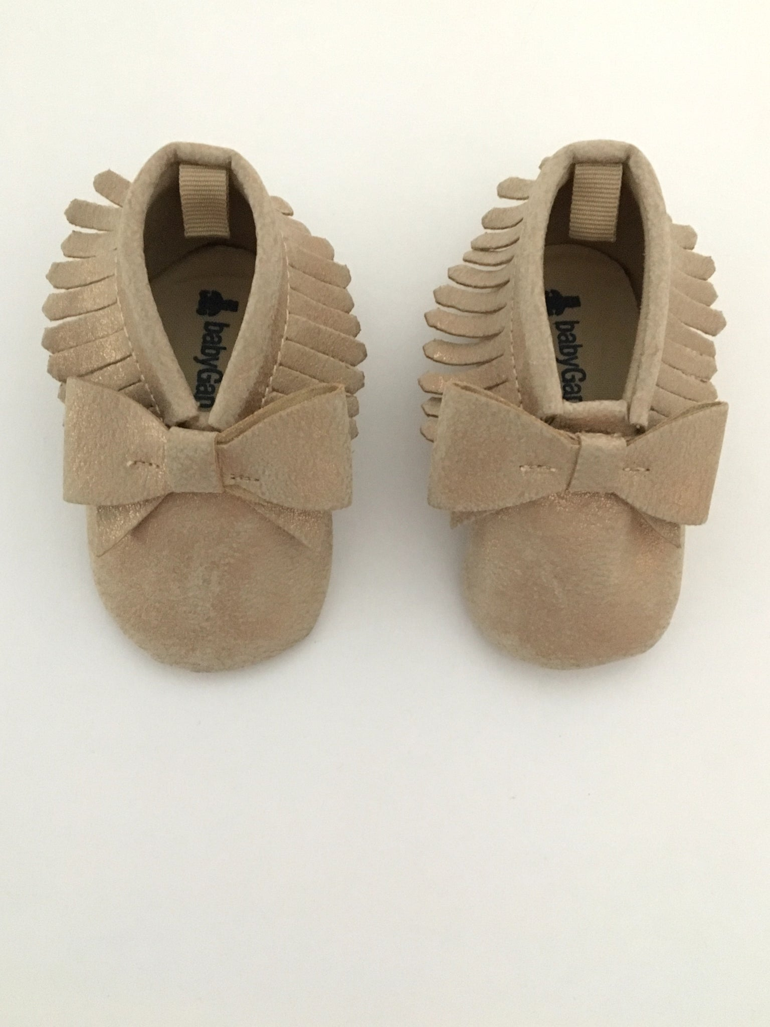Baby Gap Metallic Bow Shoes | Size 2