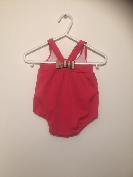 Girls Burberry Bathing Suit | 0-3 Months