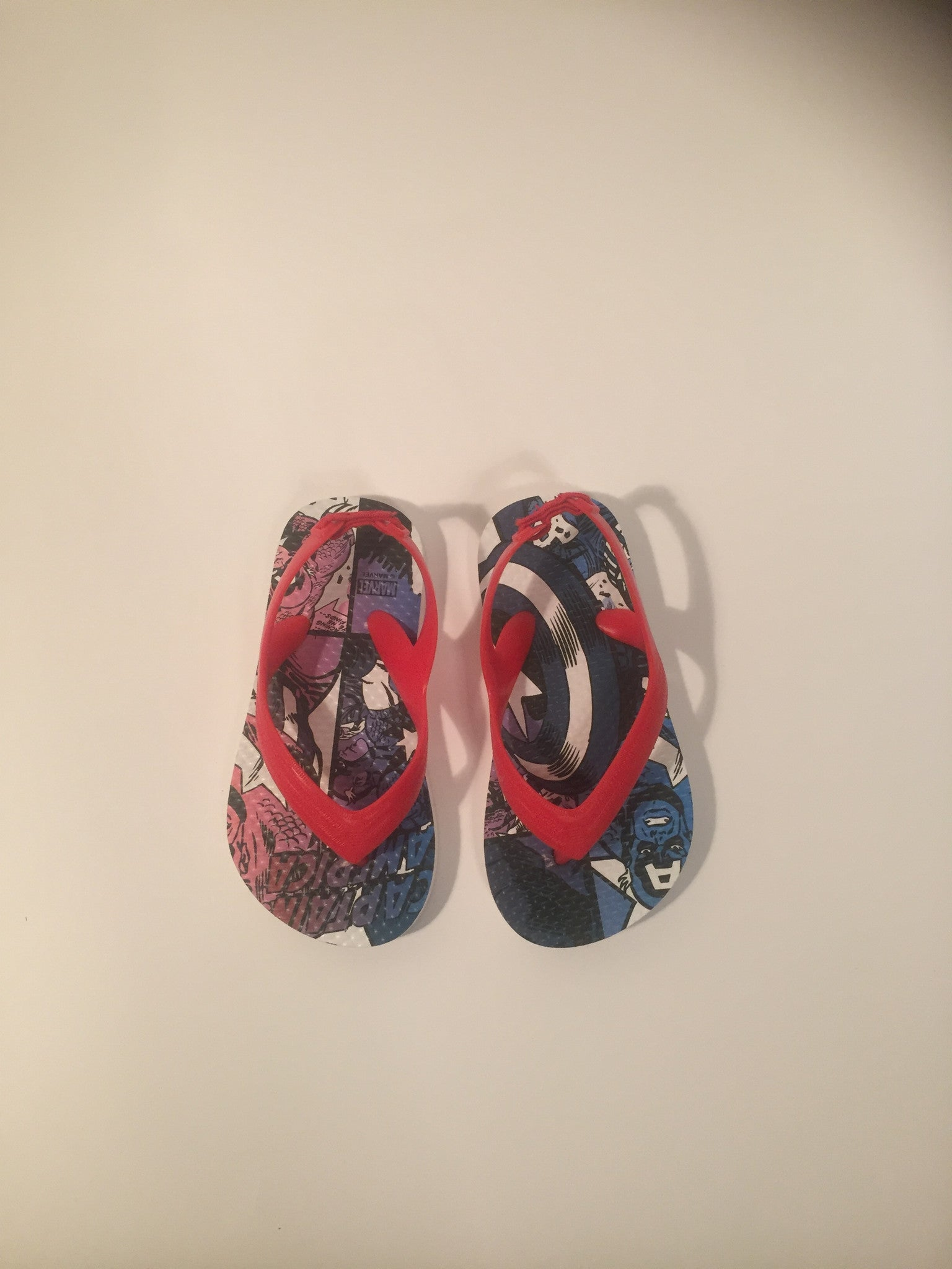 Boys Marvel Sandals | Size 7