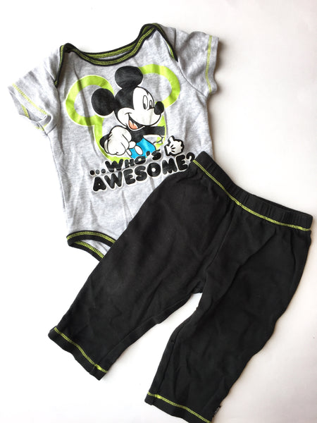 Disney Onesie + Pants | 18M